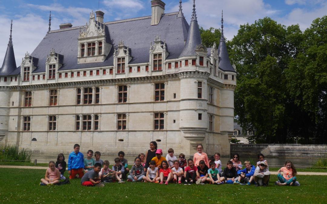 2ème jour aux châteaux de la Loire